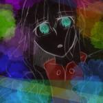 マリーらくがき⑤着色(黒)